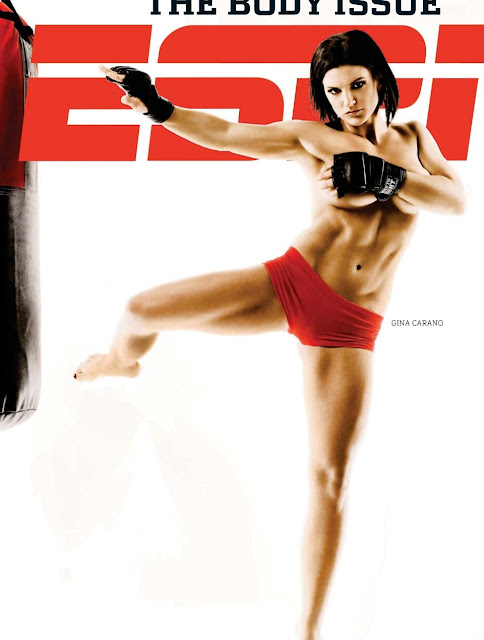 Gina Carano only the inspirationn