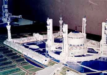 a GrandMosque Masjid Saddam di Iraq