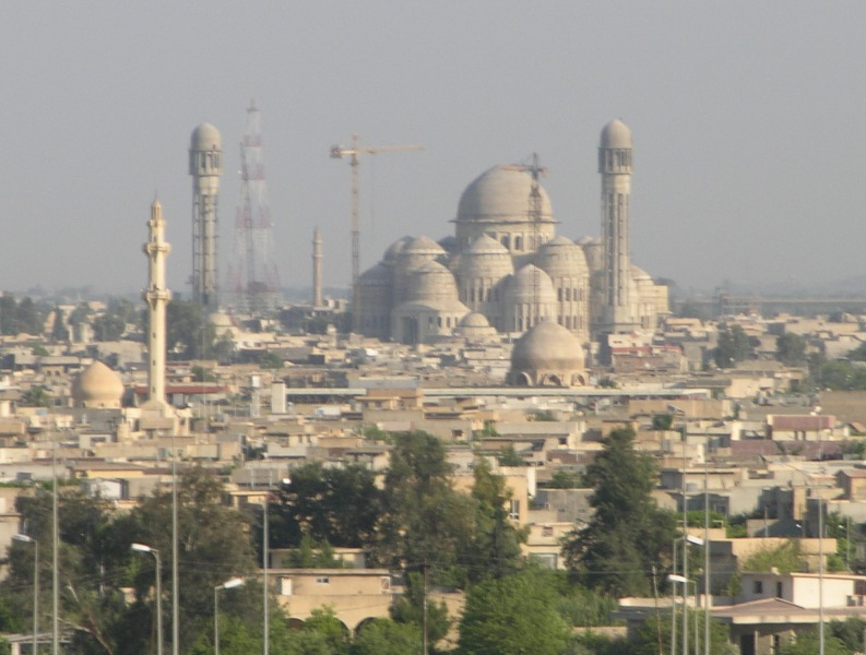 Masjid Saddam di Iraq
