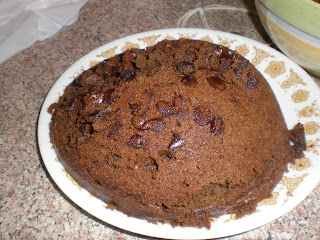 Spiced Steamed Chocolate Pudding (Gluten-free)