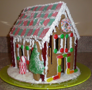 DB Challenge: Gingerbread House