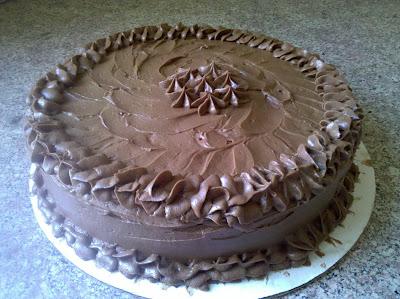 Coffee Tequila Chocolate Cake