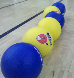 I Stink at Dodgeball