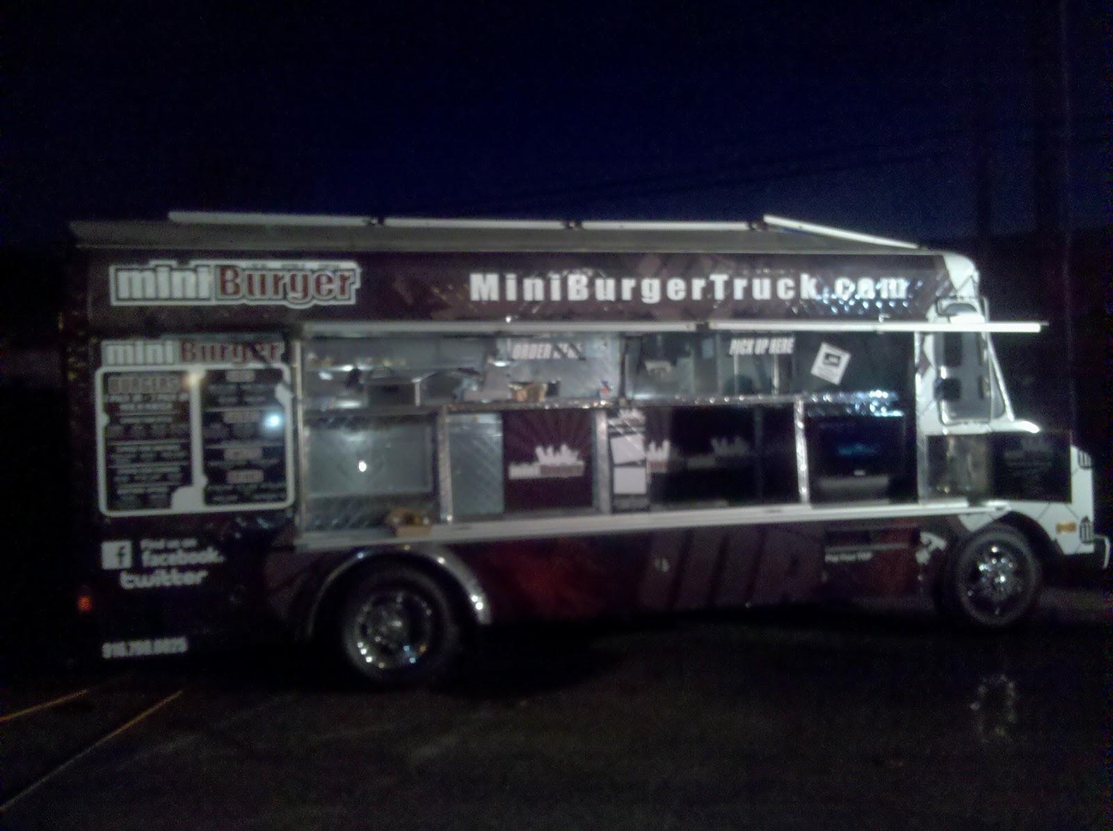 Mini Burger Truck Debuts Munchie Musings