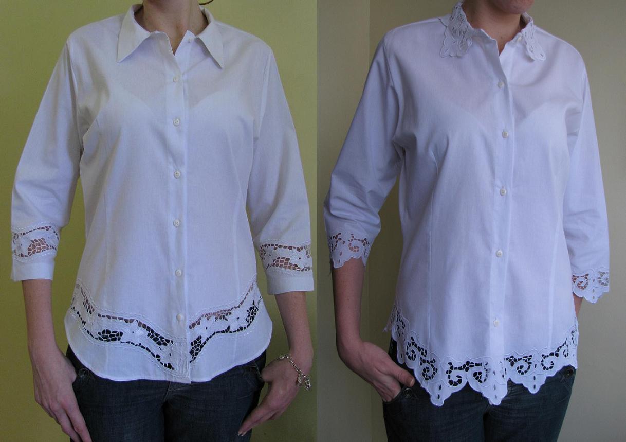 Novos Modelos De Blusas Bordadas Em Richelieu Em Tamanhos Maiores