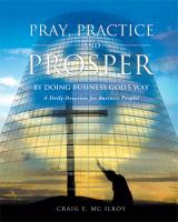 Pray Practice &amp; Prosper