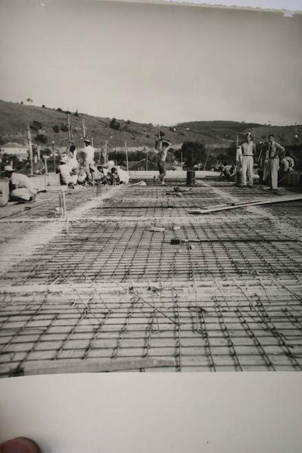 CONSTRUÇÃO DO GINÁSIO DE RECREIO 1966