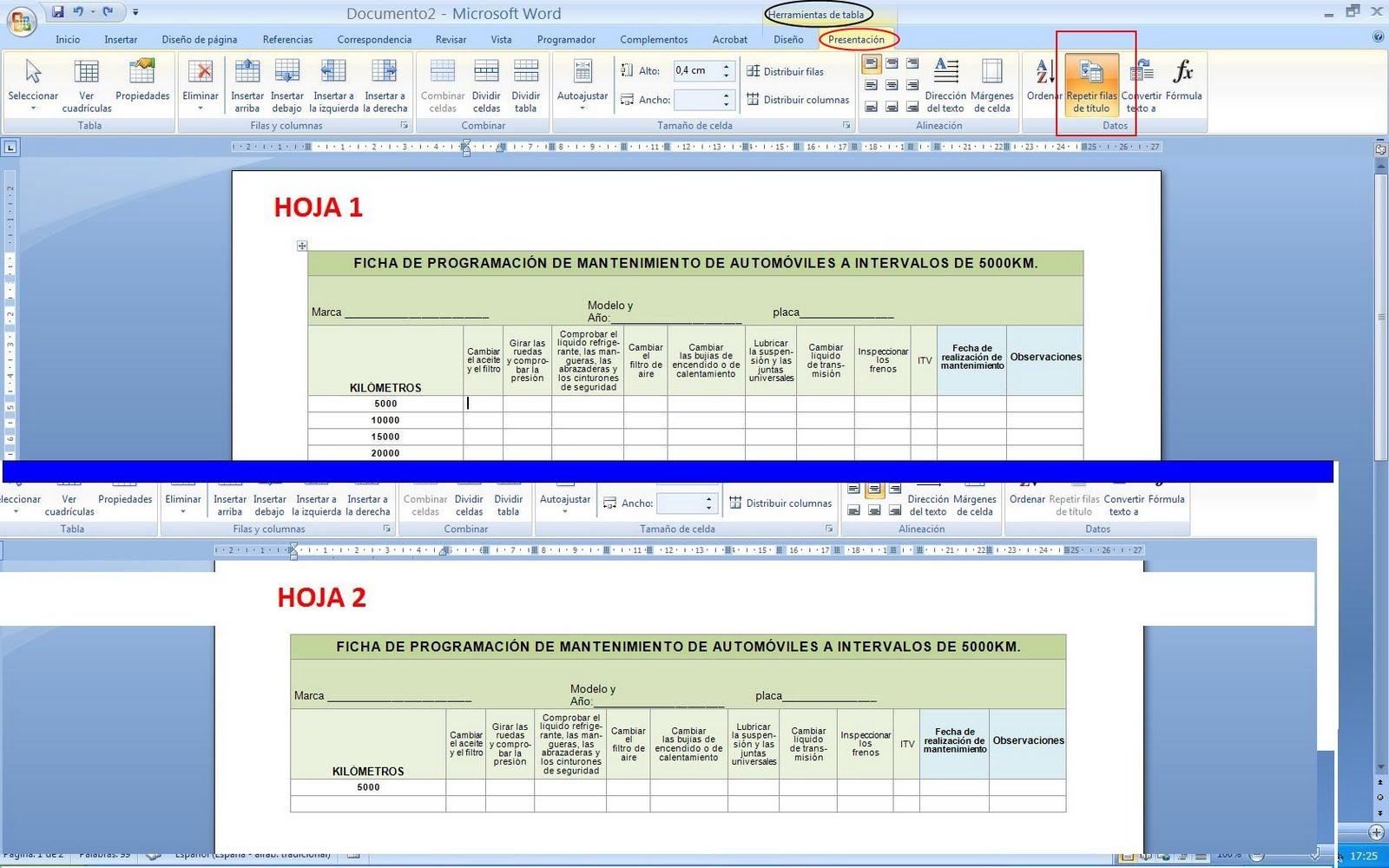 Bonito Reanudar En Microsoft Word 2003 Bandera - Ejemplo De ...