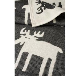Klippan Moose Blanket