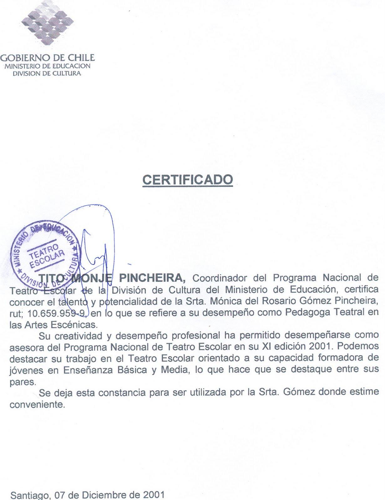 Gutierrez Directora De Teatro Fundadora Escuela De Teatro Arcis