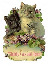Visit my Friend Brenda @ Shabby Cats and Roses!