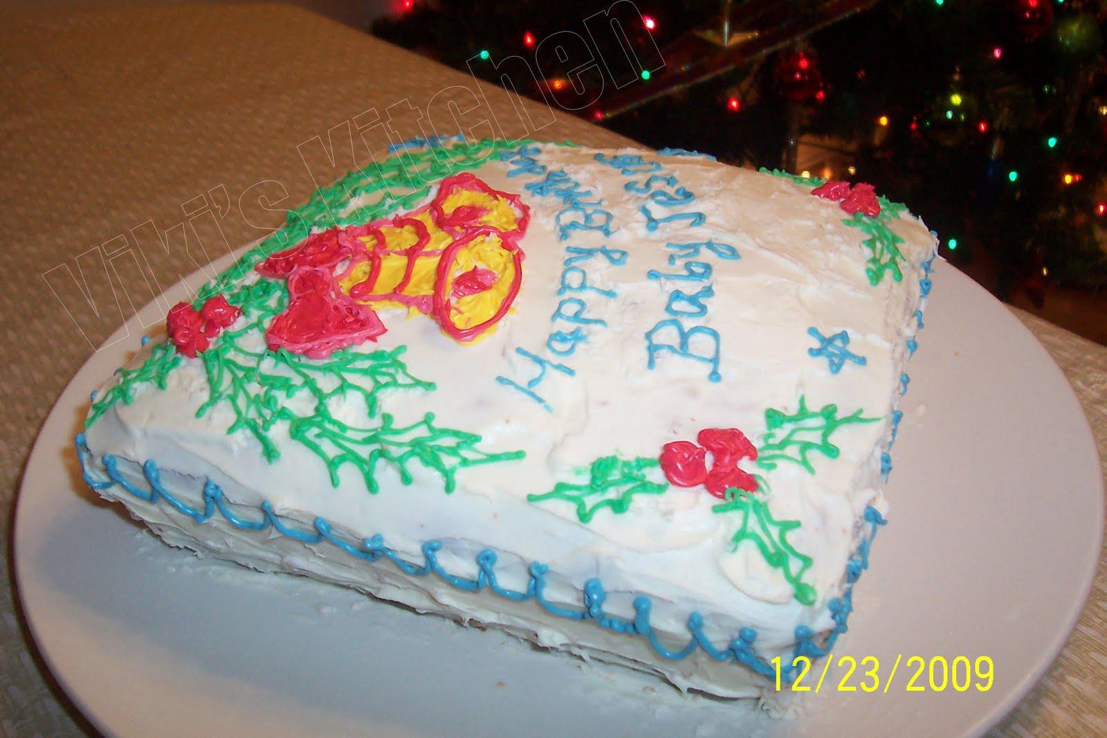 Viki S Kitchen Chicken Sukka Varuval And Our Christmas Cake