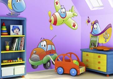 Decora y disena decorando la habitaci n de tus hijos con for Adhesivos para habitaciones