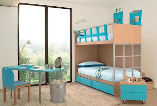 Decora y disena dormitorio compartido camarotes - Disena tu dormitorio ...