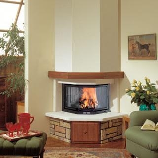 Decoraci n e ideas para mi hogar salas con chimenea for Chimeneas decoracion hogar