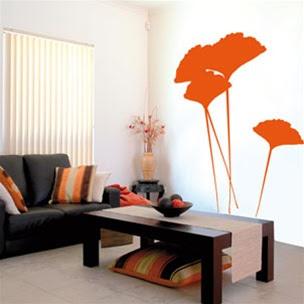 Decora y disena vinilos decorativos para la sala for Adornos decorativos para sala