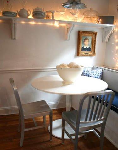 Decora y disena decoraci n de comedores para espacios for Comedores sencillos y pequenos