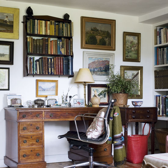 Decora y disena 15 fabulosas fotos de oficinas en casa for Oficina en casa diseno