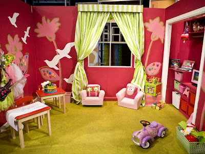 playroom ni%C3%B1as 1 Cuarto de Juegos (Playroom) para Niñas