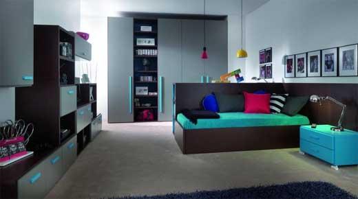 Decoración de recámaras infantiles modernas con hermosos muebles que