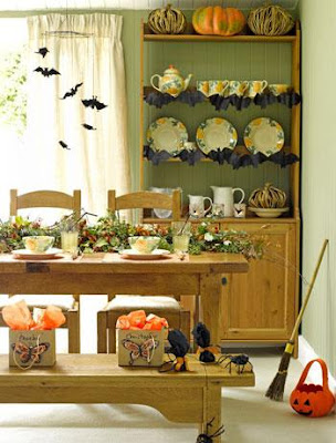 mesa comedor halloween 2 Ideas de Decoracin Interior: Halloween