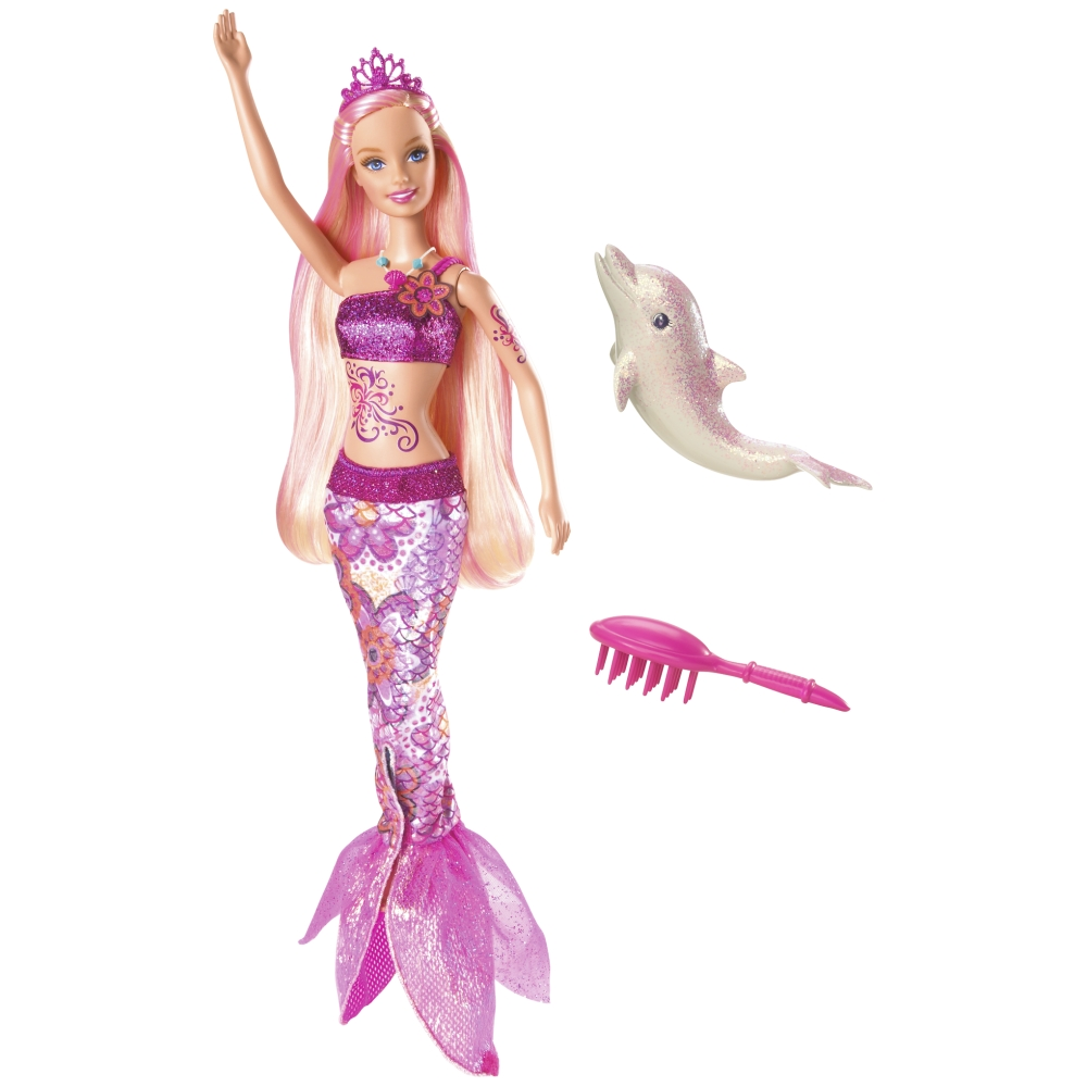 Barbie barbie merliah sirena transformable - Barbi la sirene ...