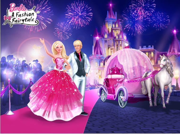 Imagenes de barbie moda mágica en parís