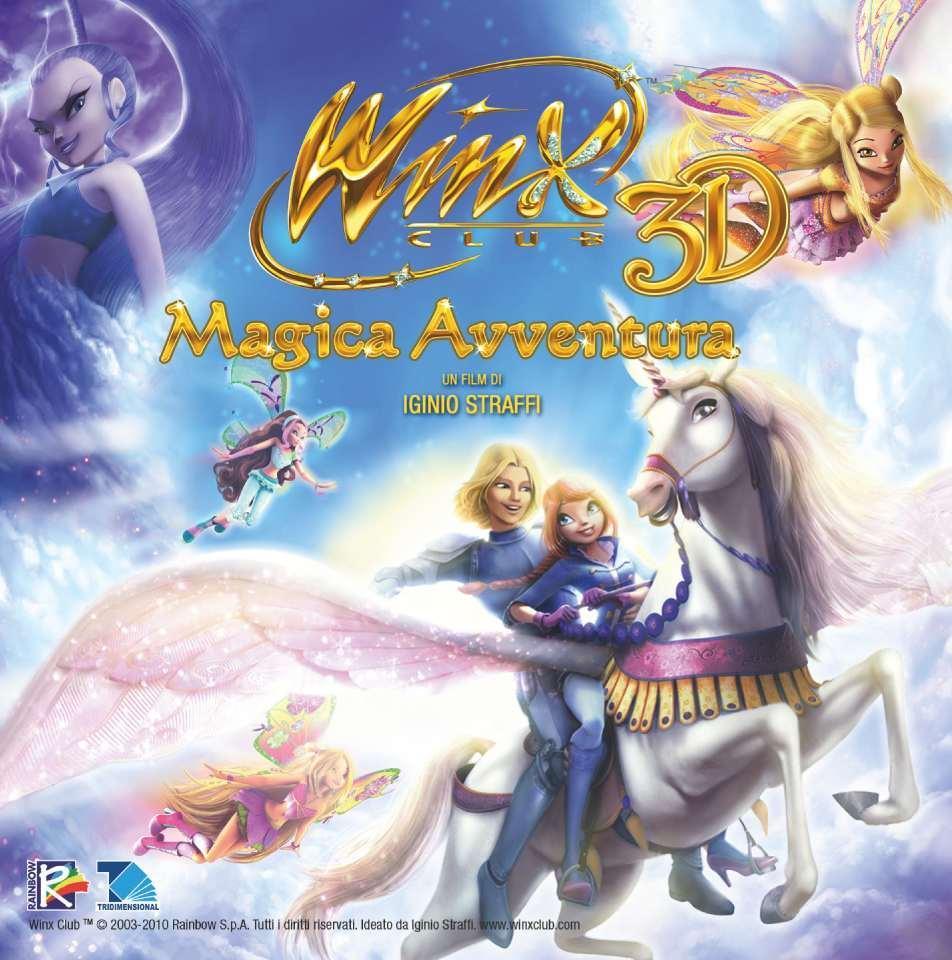 Winx Club: La Magica Aventura 3D  CDofwinx3Dmovie