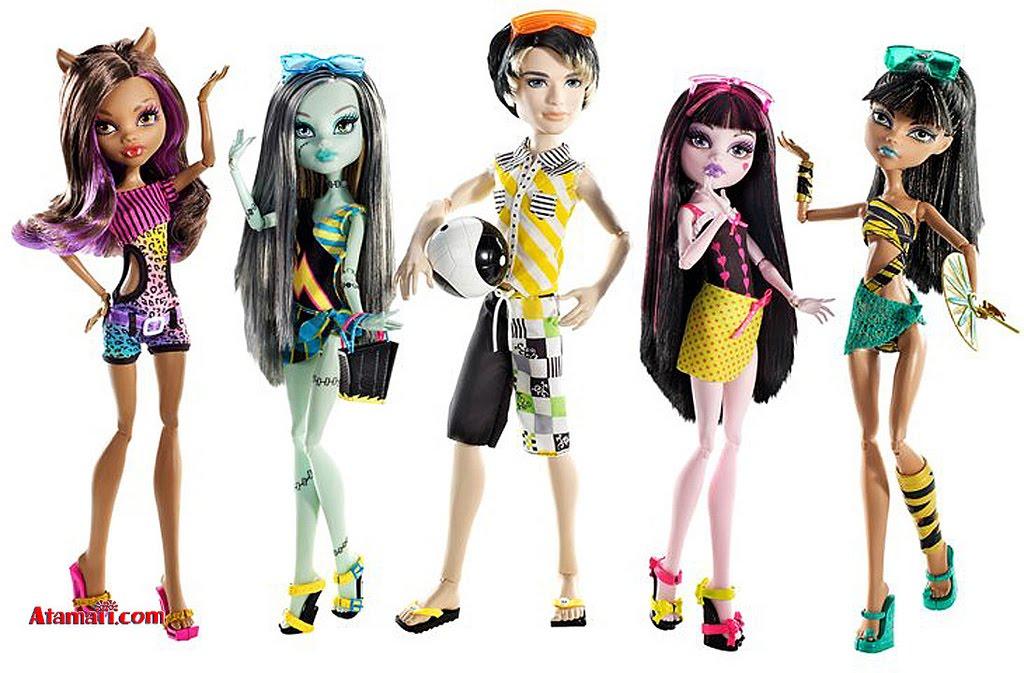 Monster High-Pretty : octubre 2010