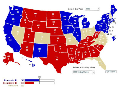 S Us Electoral Map Globalinterco - Us electorral map