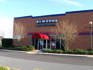 We ate at Elwood's Music Hall in Pineville, NC this evening. It ...