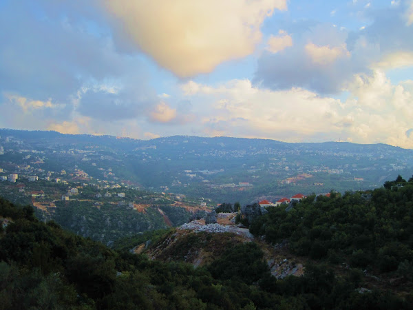 The Mountains in Lebanon