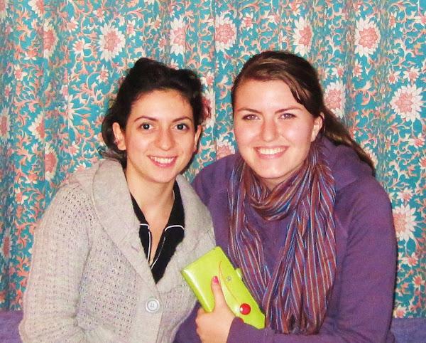 Anita(my roommate) and I