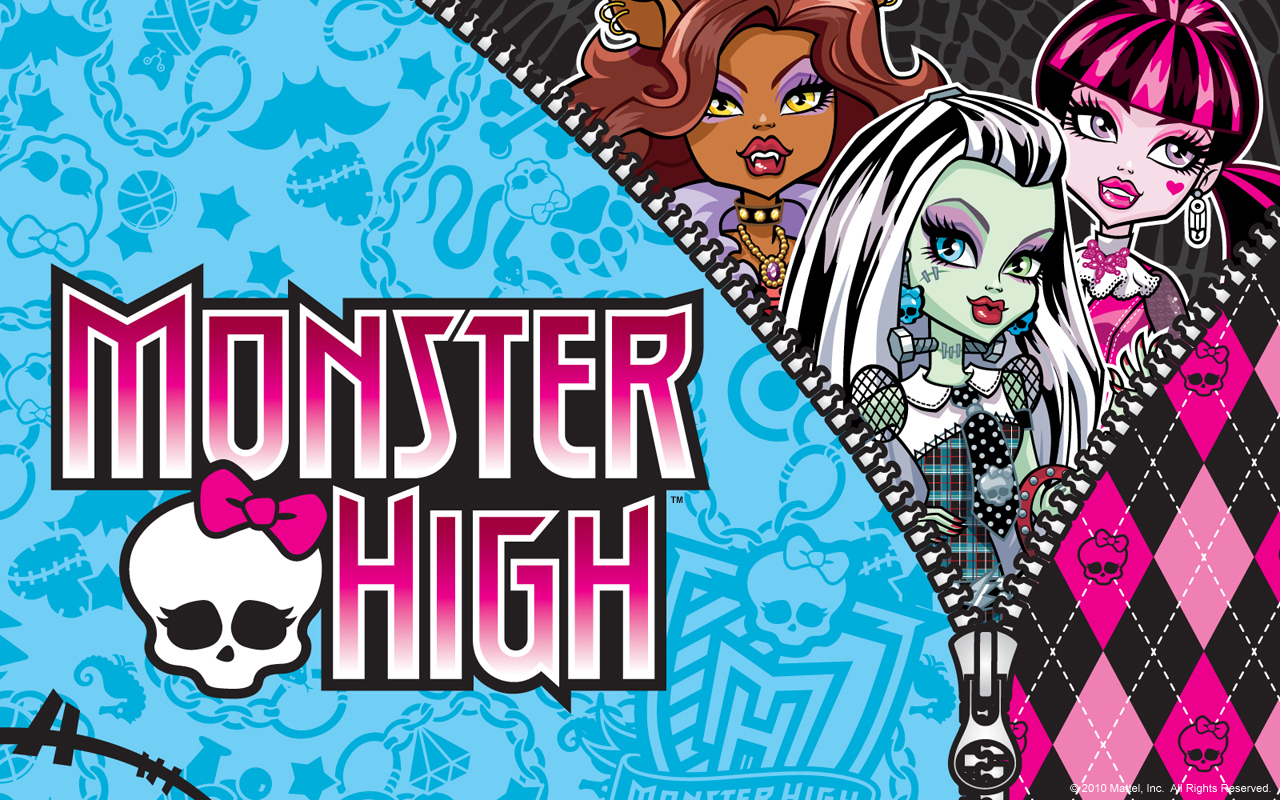 ... uma coisa super importante para mim, eu sou muito fã de Monster High