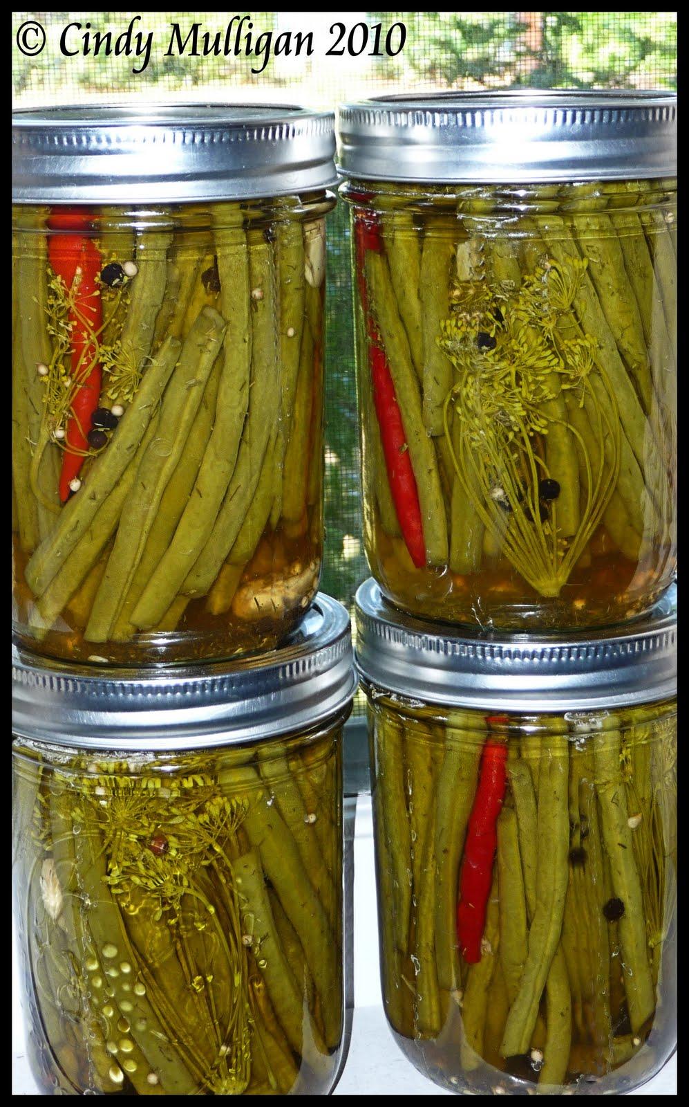 Gumbo Ya Ya: Spicy Pickled Green Beans