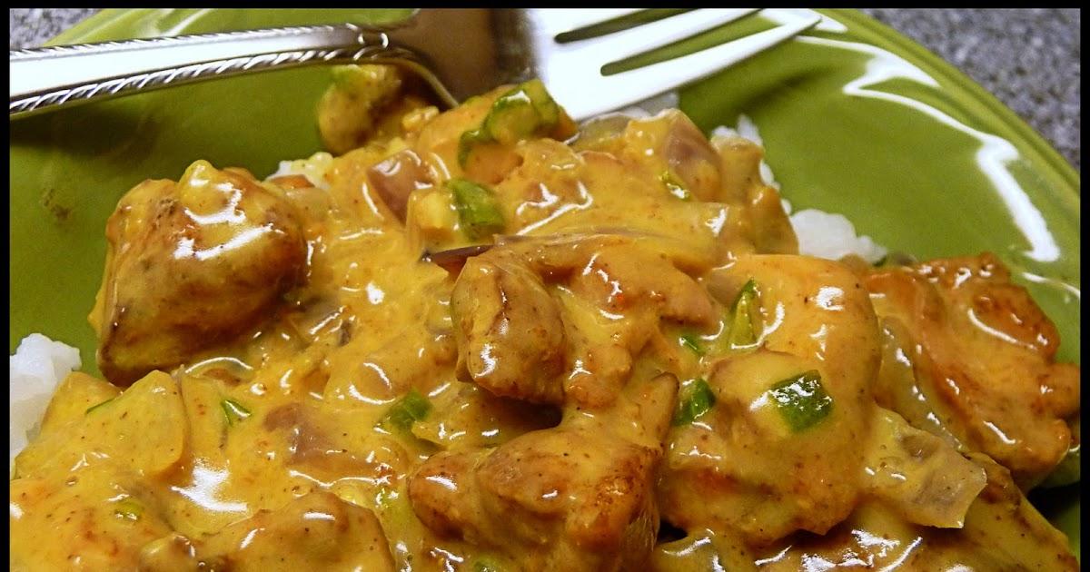 Gumbo Ya Ya: Basil Chicken in Coconut Curry Sauce
