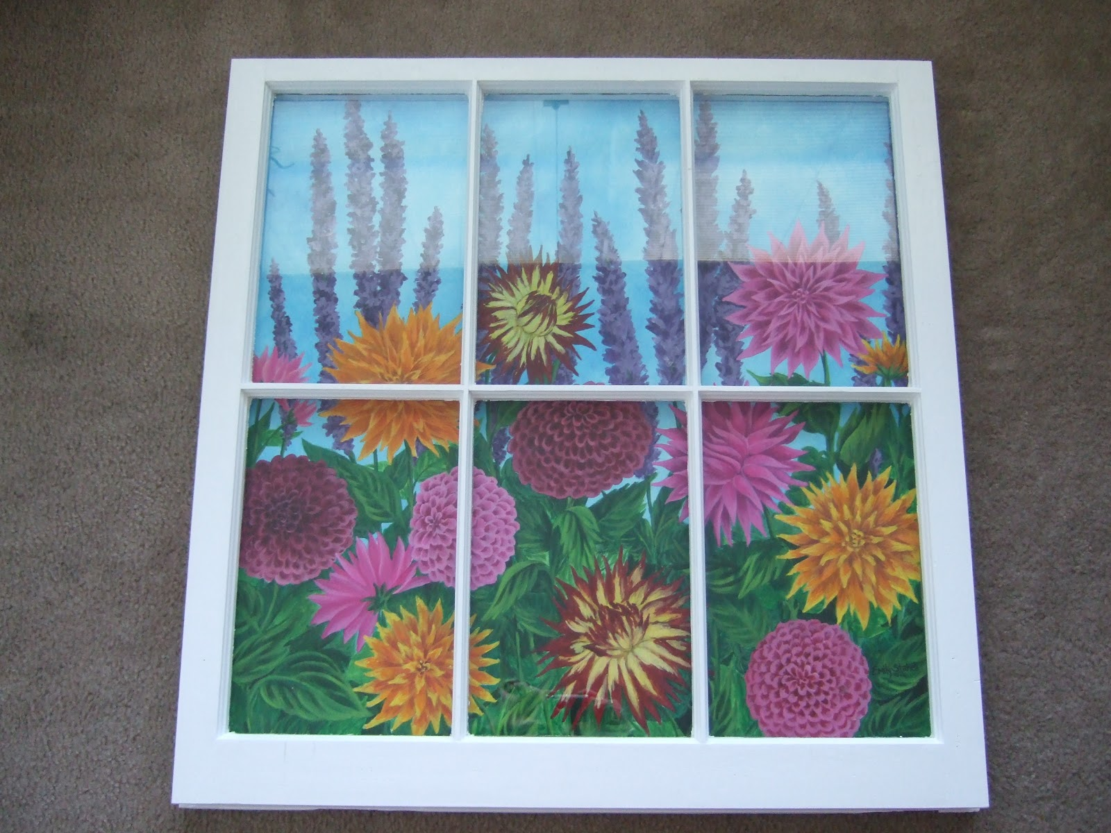 murals by emily staheli dallia window painting On window painting