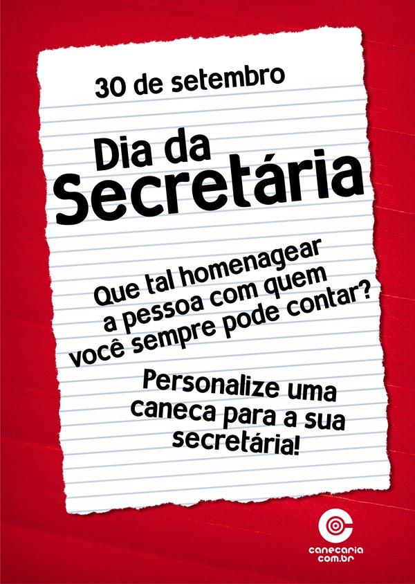 Blog Da Canecaria 30 De Setembro Dia Da Secretária