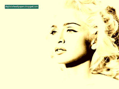 Site Blogspot  Free Wallpaper   Computer on Digital Art Wallpapers  Madonna   Free Pc Desktop Wallpaper