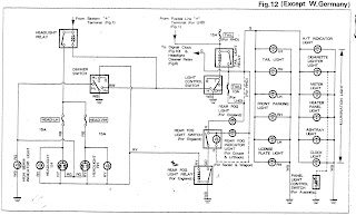 toyota corolla electrical wiring diagram model electrical wiring rh electricalwiringdiagram blogspot com toyota corolla 2004 radio wiring diagram 2004 Corolla Fuse Box Diagrams