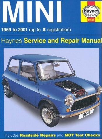 repair manuals haynes 1969 2001 mini cooper service and. Black Bedroom Furniture Sets. Home Design Ideas