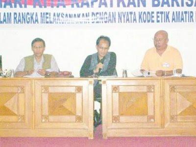 Ir. Adang Sadikin (YC1BAR), Ir. Sriyono (YC1JUN), Drs. Agoes S. (YC1DOC)
