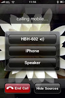 making call on iPhone with Bluetooth headset