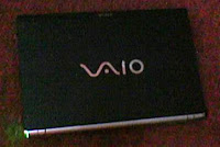 Top view of Sony VAIO Z series
