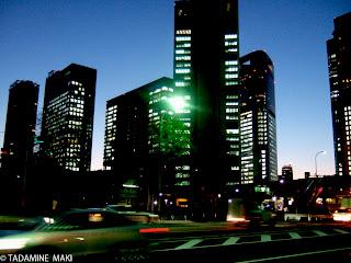 sunset, Tokyo sightseeing