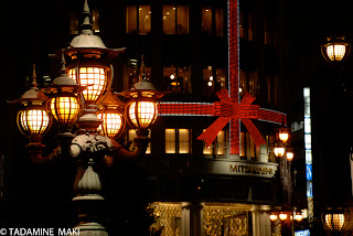 City lights, taken from Nihombashi Bridge