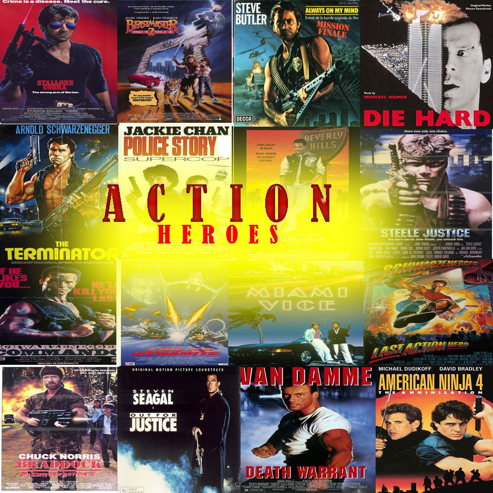 80'S SOUNDTRACKS : Action Heroes : Best Action Movie Soundtracks