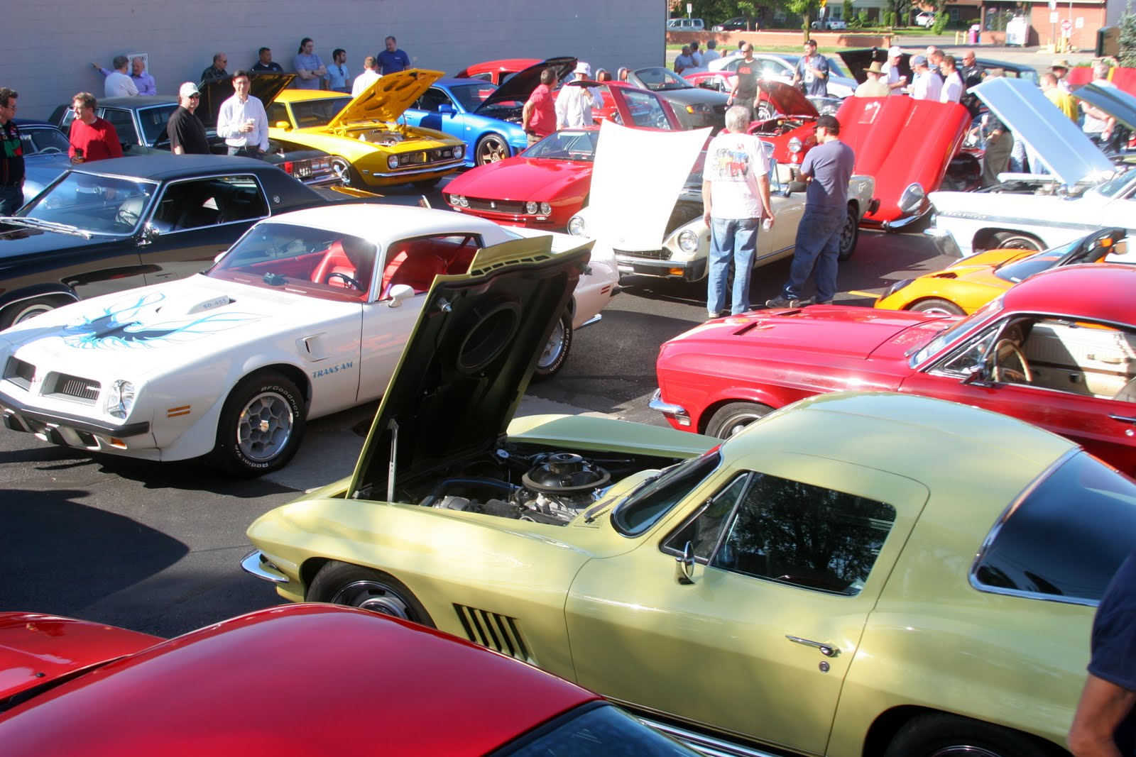 car shows every weekend,