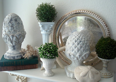 Starshine chic three or more tuesday beachy decor for Brylane home christmas decorations