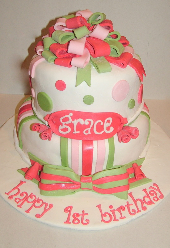 Images Of Pretty Birthday Cake : A Piece of Cake: Pretty Birthday Cake